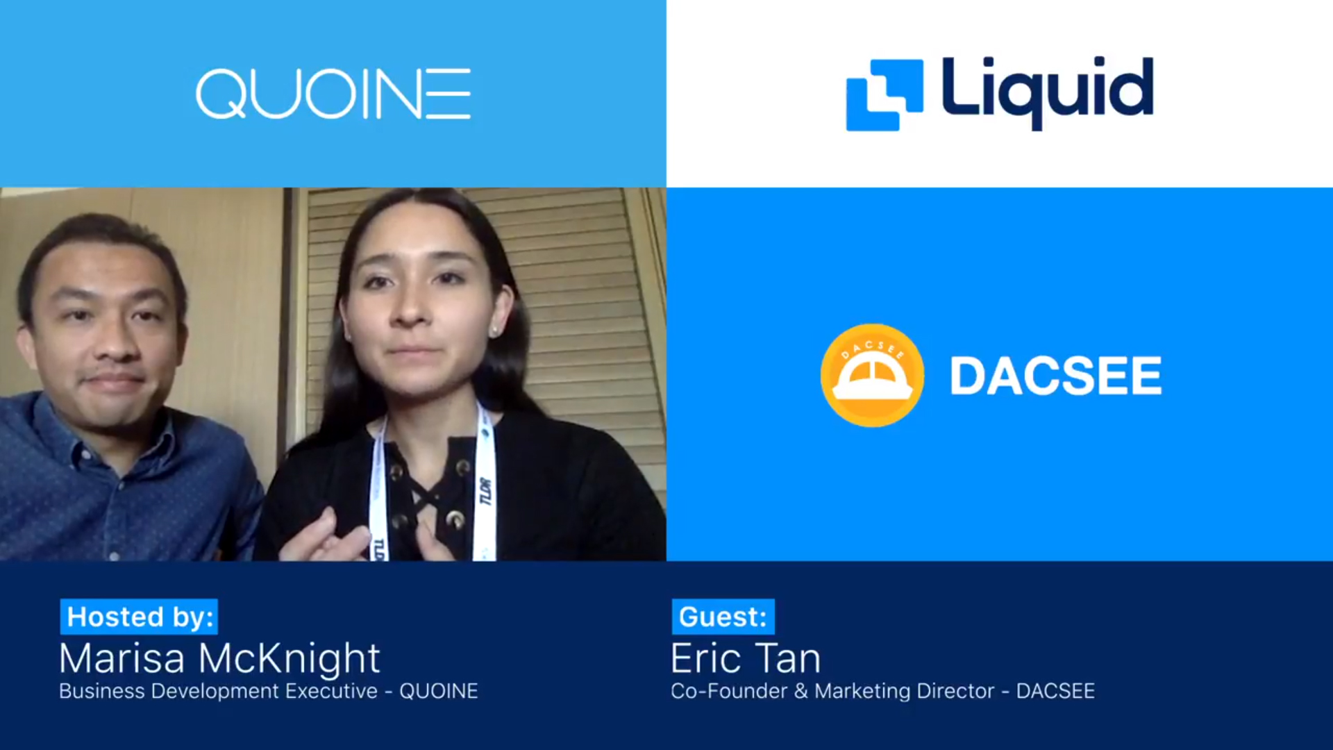 QUOINE X DACSEE Interview