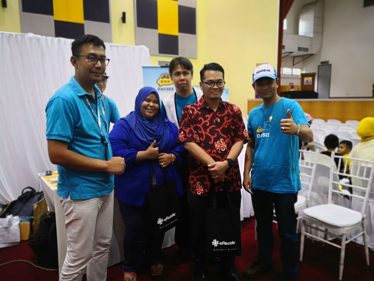 DACSEE in the 2018 OKU Job Fair is focus in giving back to the community