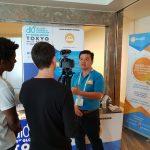 막사출시 세계의 첫번째 분산 사회 타고 공유 플랫폼 동남 아시아, d10e 도쿄에서에서 선물