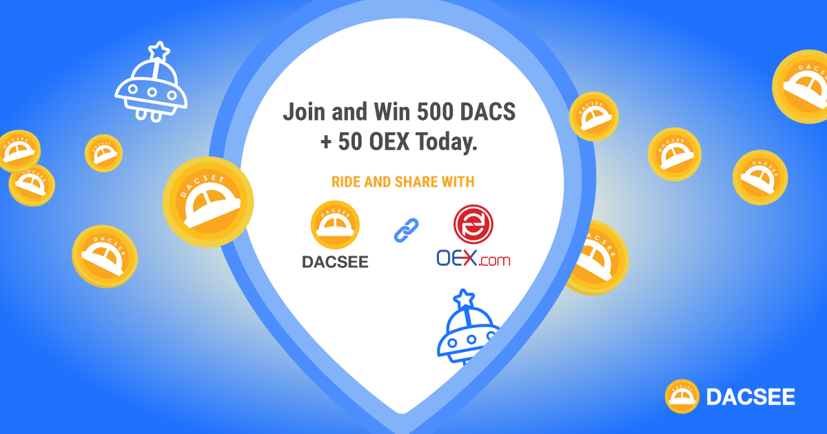 RIDE AND SHARE WITH DACSEE & OEX
